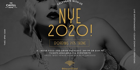 Roaring 20's NYE at The Cavill Hotel tickets