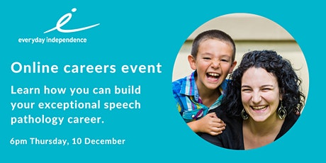 Build your Exceptional  Speech Pathology Career  with Us! tickets
