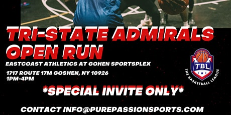 Tri-State Admirals Open Run tickets