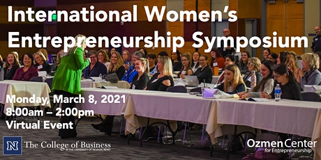International Women's Entrepreneurship Symposium 2021 tickets