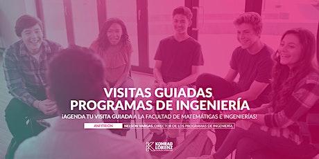Visitas Guiadas: Carreras de Ingeniería Industrial /Ingeniería de Sistemas entradas