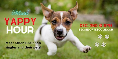 Virtual Yappy Hour for Cincy Singles tickets