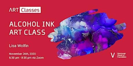 Alcohol Ink Art Class tickets