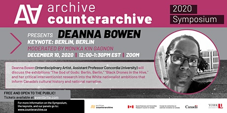 Archive/Counter-Archive 2020 Symposium Keynote: Deanna Bowen tickets
