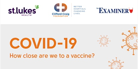 COVID-19 - How close are we to a vaccine? tickets
