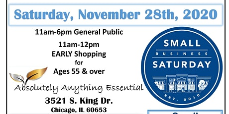 Small Business Saturday: Shop. Support & Preserve Small Business Chicago tickets