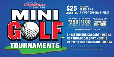 Calgary Northgate Mini Golf Tournament tickets