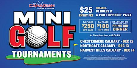 Calgary Harvest Hills Mini Golf Tournament tickets