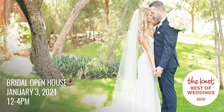 January 3rd Bridal Open House tickets