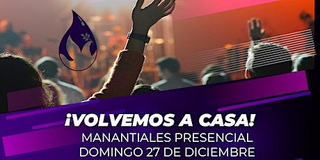DOMINGO 27 DE DICIEMBRE | 10:00AM entradas