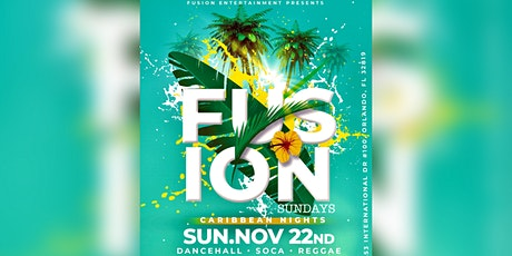 Fusion Sundays (Caribbean Nights) tickets