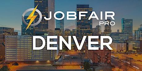 Denver Virtual Job Fair January 27, 2021 tickets