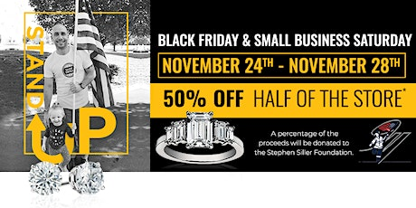 Black Friday Stand Up Sale - 50% Off + Support Stephen Siller Foundation tickets