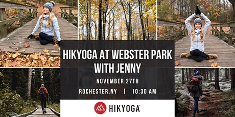 Hikyoga at Webster Park with Jenny tickets