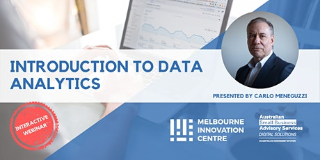 [WEBINAR] Introduction to Data Analytics tickets