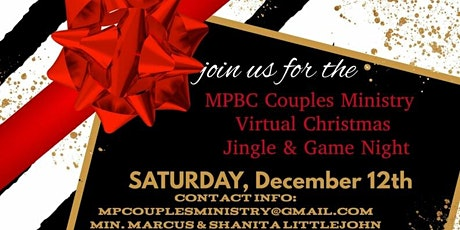 Mount Pleasant Baptist Church Couples Ministry Virtual Game Night tickets