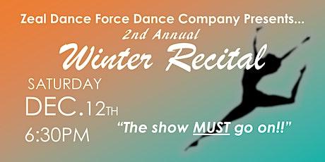 Zeal Dance Force Winter Recital 2020 tickets