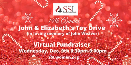 19th Annual John & Elizabeth's Toy Drive- Virtual Fundraiser Non-members tickets