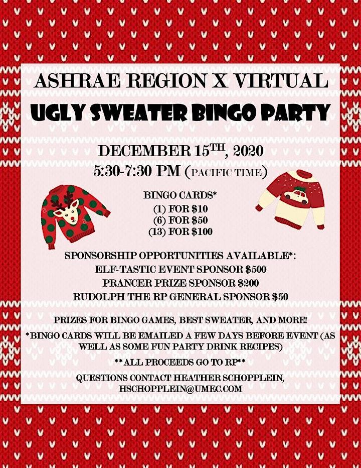 Ugly sweater bingo printable free