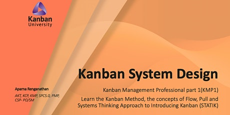 Thanksgiving - Kanban System Design (KMP1) -  earn KMP1 n 2 combo @1995 USD tickets