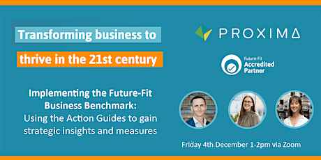 Implementing the Future-Fit Business Benchmark tickets