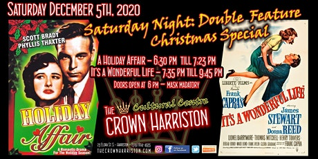Saturday Night: Double Feature - Christmas Special tickets