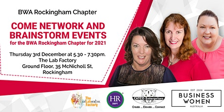 Rockingham: Network & Brainstorm Events tickets