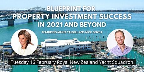 Blueprint for Property Investment Success in 2021 and Beyond tickets