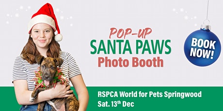 Pop-Up Santa Paws: Springwood tickets