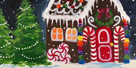 Join My Paint and Sip 'Gingerbread Happiness' tickets