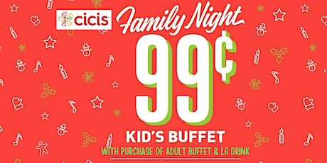 Family Nights @ Cicis - Clearwater tickets