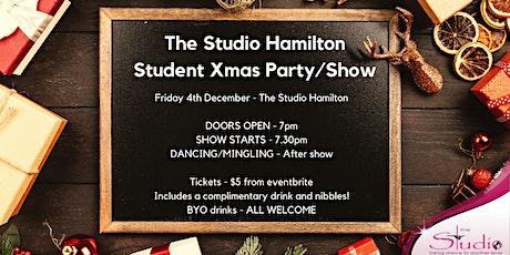 The Studio Hamilton Student Xmas Party/Show tickets