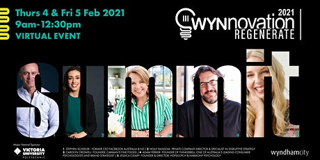WYNnovation 2021- THE SUMMIT tickets