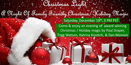 Christmas Light: A Night Of Family Friendly Christmas Magic tickets