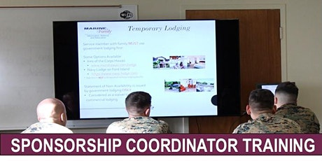 Virtual Sponsorship Coordinator Training for MCBH Personnel tickets
