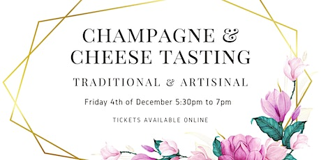 Champagne & Cheese Tasting tickets
