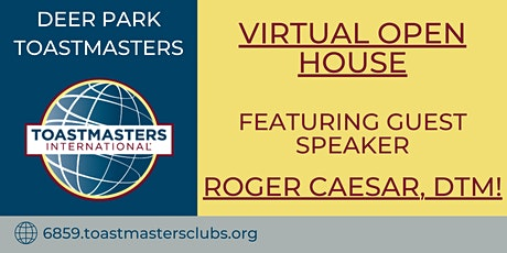 Virtual Open House by Deer Park Toastmasters tickets