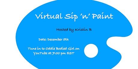 Virtual Sip 'n' Paint tickets