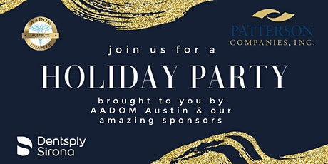 AADOM Holiday Party tickets