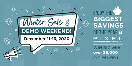 Winter Sale And Demo Weekend! tickets