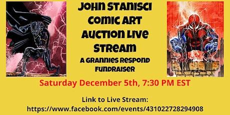 John Stanisci, famed  comic artist, auction to benefit Grannies Respond tickets