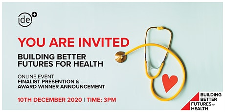 IDE Group | Building Better Futures for Health Challenge 2020 tickets