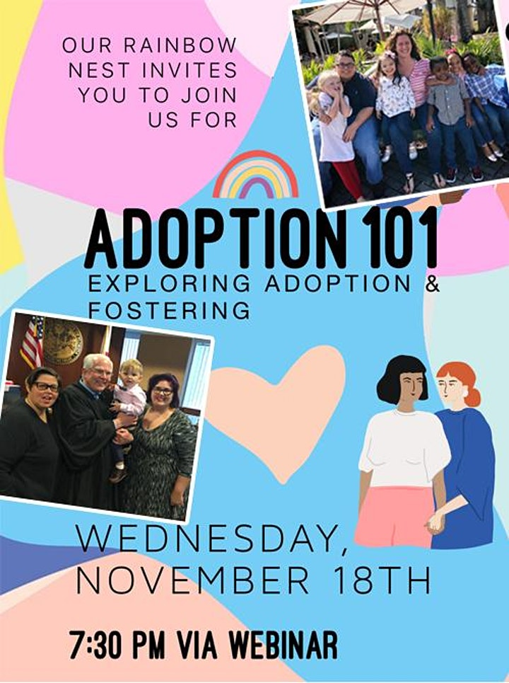 ADOPTION 101Exploring Adoption and Fostering FOR LGBT families image