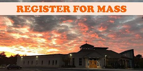 NOVEMBER 26,  9AM , HOLY MASS tickets