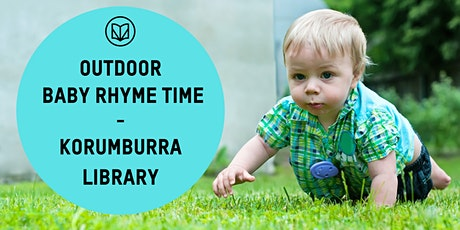 Baby Rhyme Time Outside Korumburra Library tickets