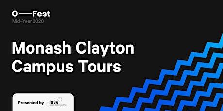 MSA C&E: Monash Clayton Campus Tours (Virtual Tours) tickets