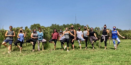 Vino Vinyasa at Fall Creek Vineyard tickets