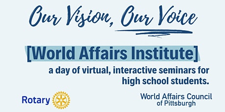 World Affairs Institute - Redefining Youth Learning: Our Vision, Our Voice tickets