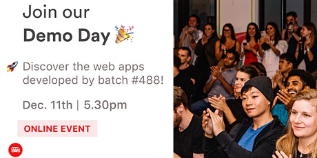Le Wagon Demo Day - Batch #488 tickets