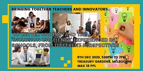 Better understand the 'inclusion challenge'  experienced in schools tickets